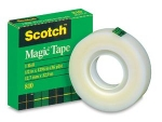 3M 810 19MM X 36 YARDS SCOTCH TAPE