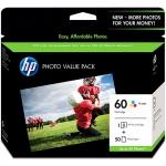 HP CG848AA, HP 60 PHOTO VALUE PACK