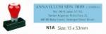 AE PRE-INK STAMP N1A-1