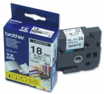 BROTHER TZ-241 TAPE 18MM (BLK ON WHITE)