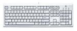 LOGITECH CLASSIC KEYBOARD (WHITE) - PS2