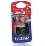 BROTHER M-K231 TAPE 12MM BLACK ON WHITE