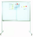 WHITEBOARD WITH STAND 4' x 6' (MAG)