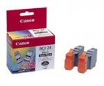 CANON BCI-24 BLACK (TWIN PACK)