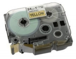 BROTHER TZ-651 TAPE 24MM (BLK ON YELLOW)