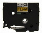 BROTHER TZ-661 TAPE 36MM (BLK ON YELLOW)