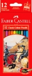 FABER COLOUR PENCIL 12'S (L)
