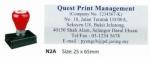 AE PRE-INK STAMP N2A-1
