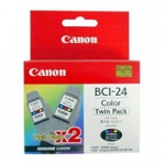 CANON BCI-24 COLOUR (TWIN PACK)