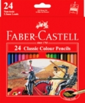 FABER COLOUR PENCIL 24'S (L)